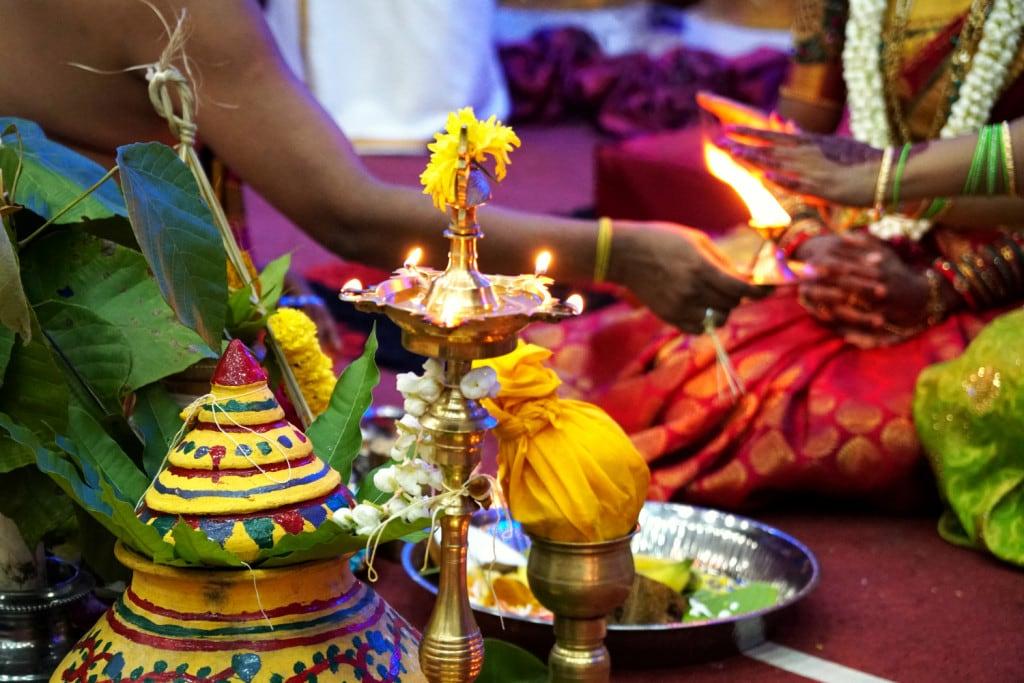 Leben im Ausland indisches Hochzeitsritzal