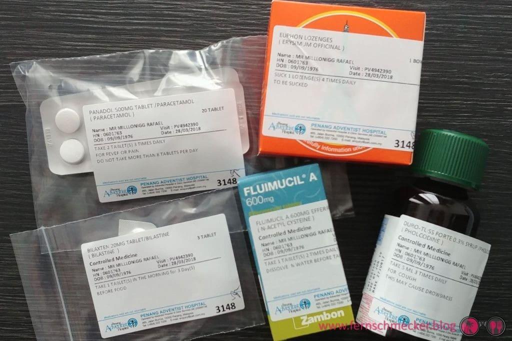 Medikamente Penang Adventist Hospital