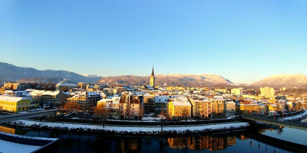 Villach Panoramafoto
