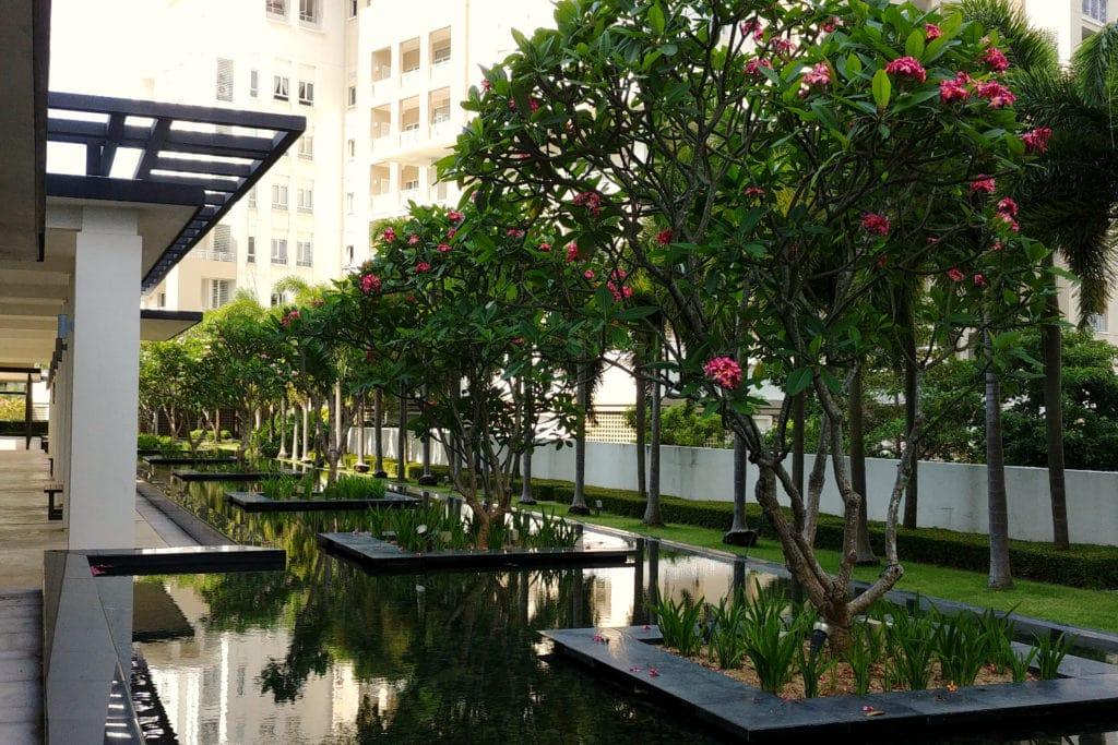 Quayside Gartenanlage