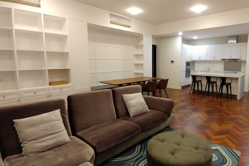 Quayside Wohnzimmer und Küche