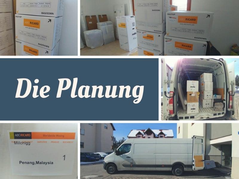 Die Planung, move to Penang