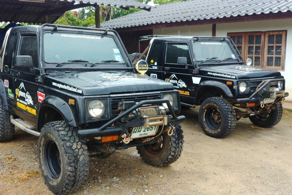 Thailand Offroad Suzuki Caribian Workshop