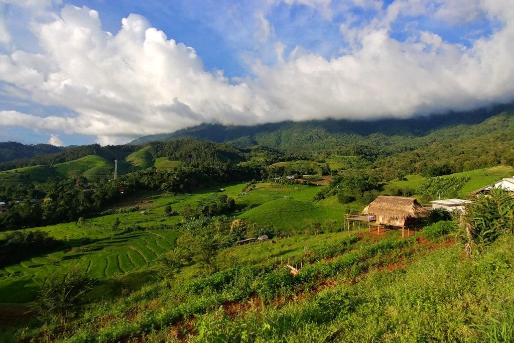 Thailand Amphoe Mae Chaem