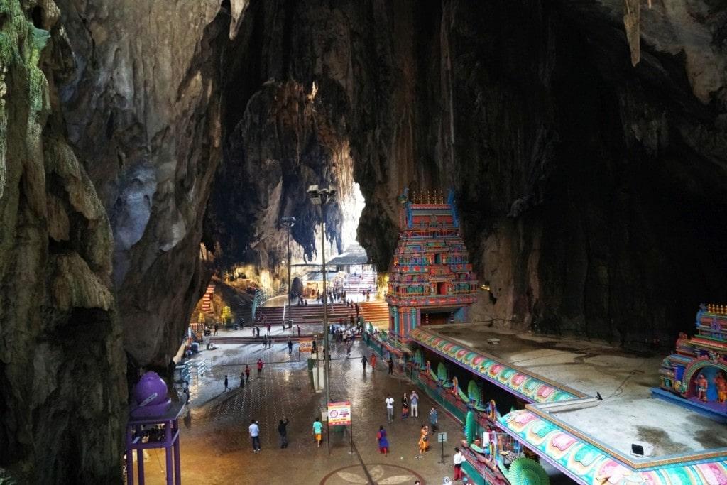 Kuala Lumpur Höhlen Tempel