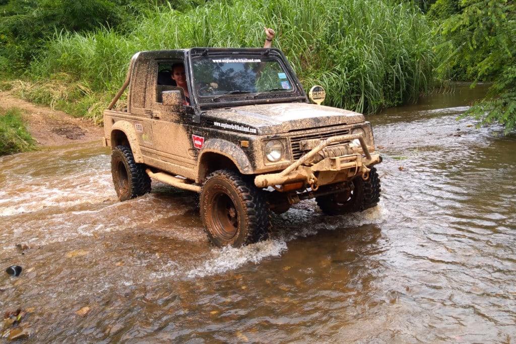 4x4 Offroad Thailand Suzuki Caribian