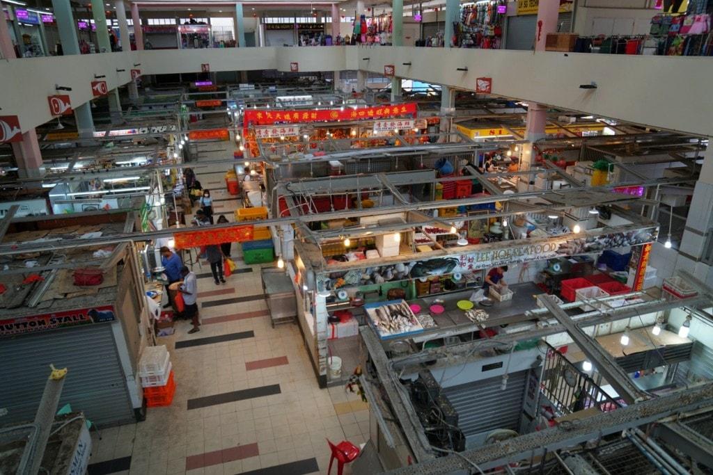 Tekka Center Wet Market Singapur