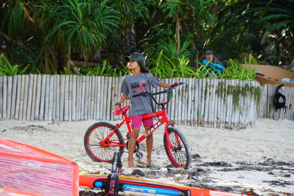 Bulabog Beach Fahrrad