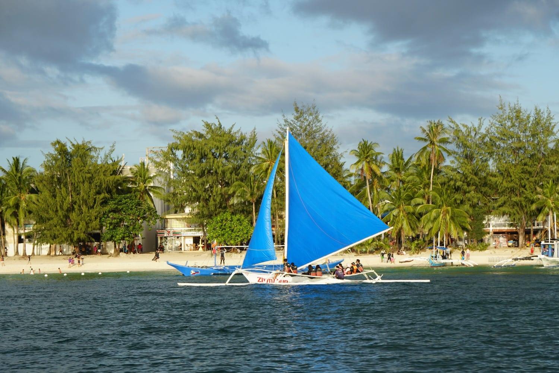 Segeln auf Boracay
