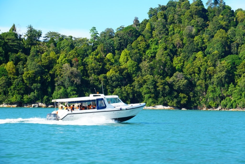 Anreise nach Pangkor Laut