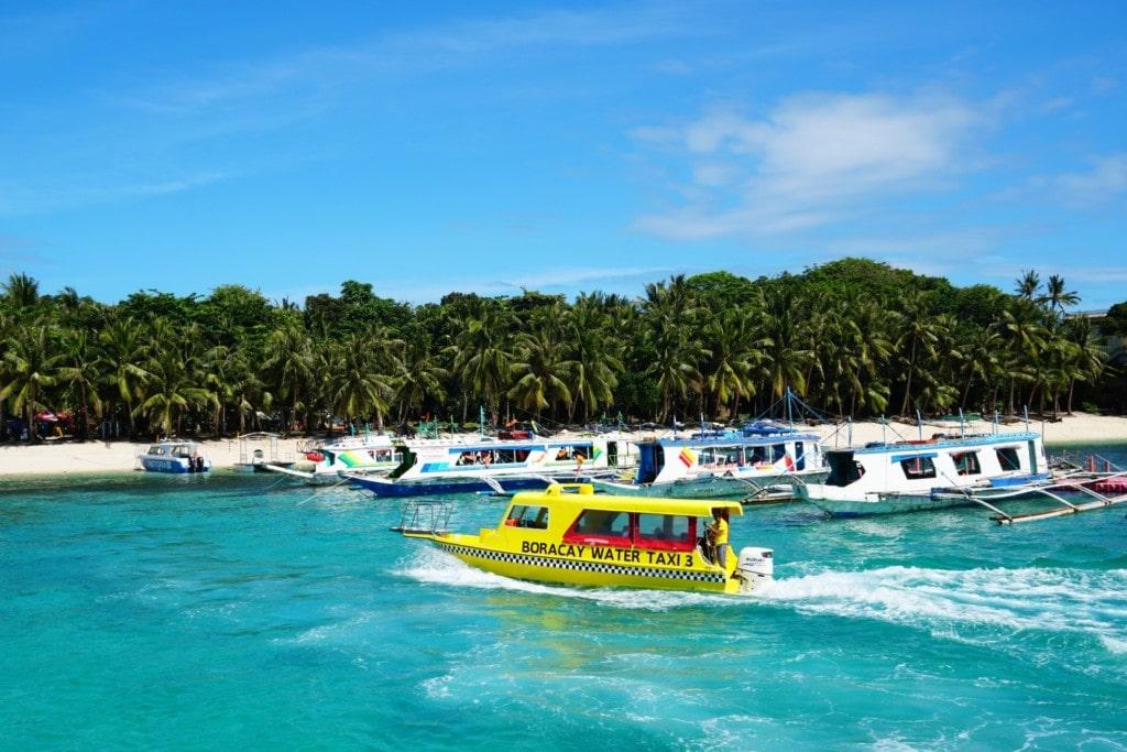 Fähre und Boot Taxi Boracay