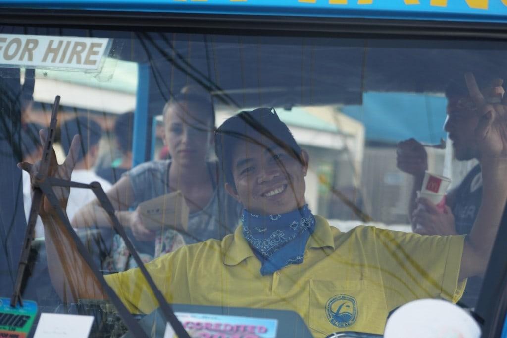 Tricycle Fahrer Boracay