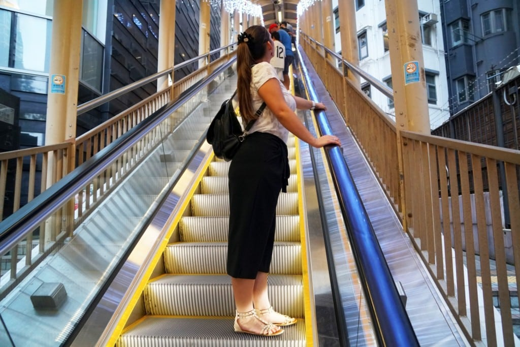 Cental Mid-Levels Escalator Facebook