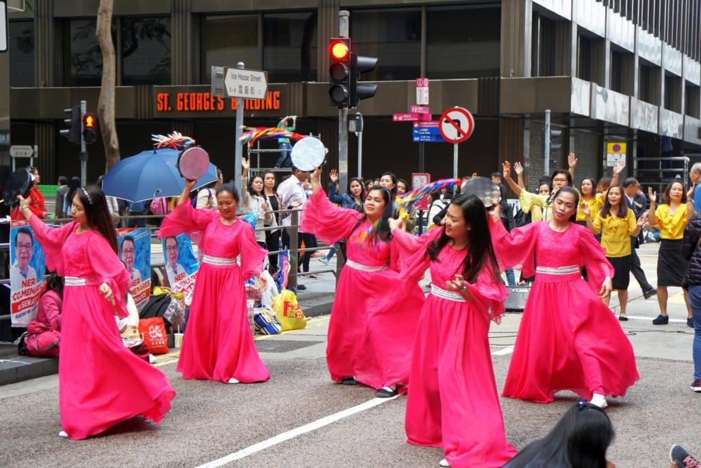 Philippinischer Tanz Hong Kong