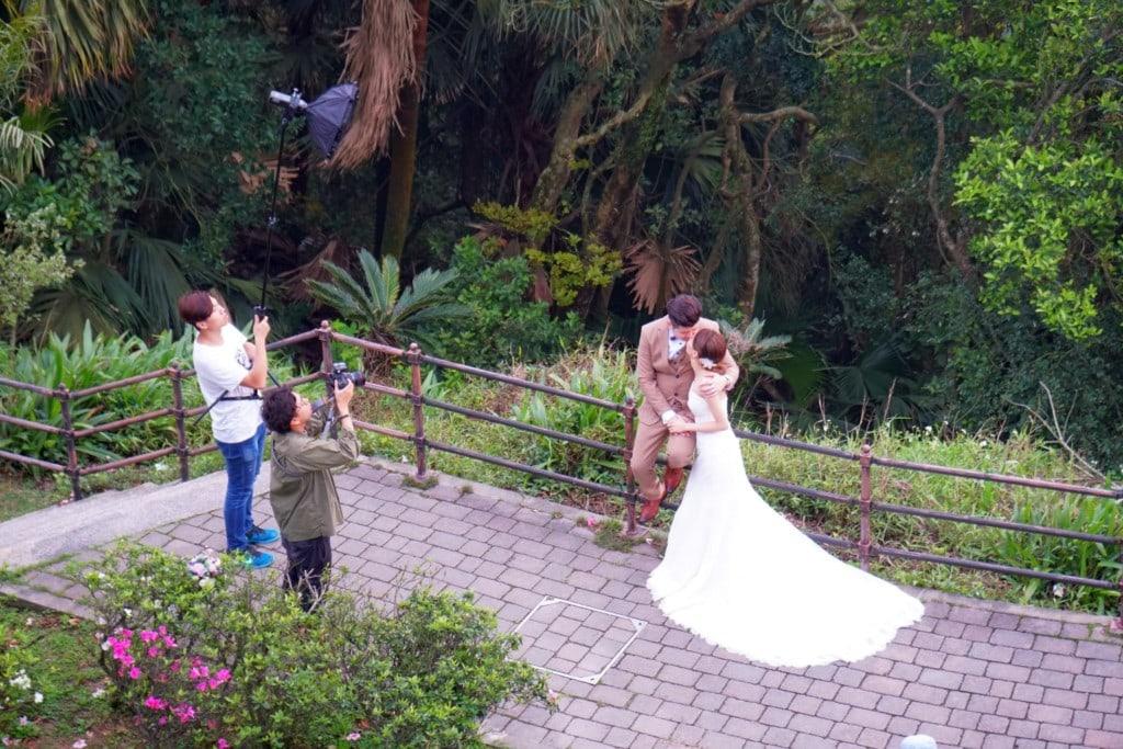 Victoria Peak Garden Hochzeitspaare