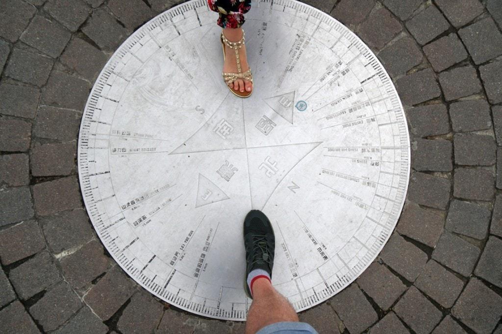 Victoria Peak Garden Kompass