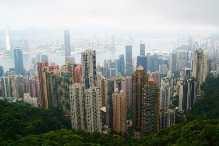 Victoria Peak Hong Kong Island