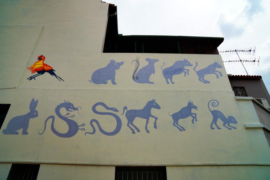 12 Chinesische Tierkreiszeichen