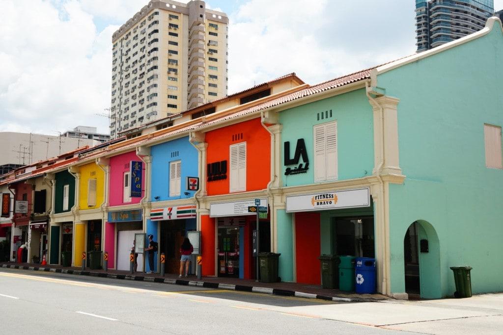 arabisches Viertel in Singapur