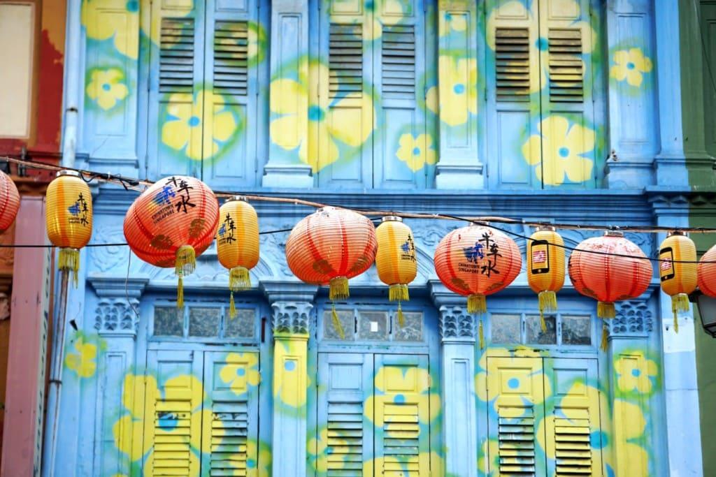Chinatown Singapur Pagoda Street