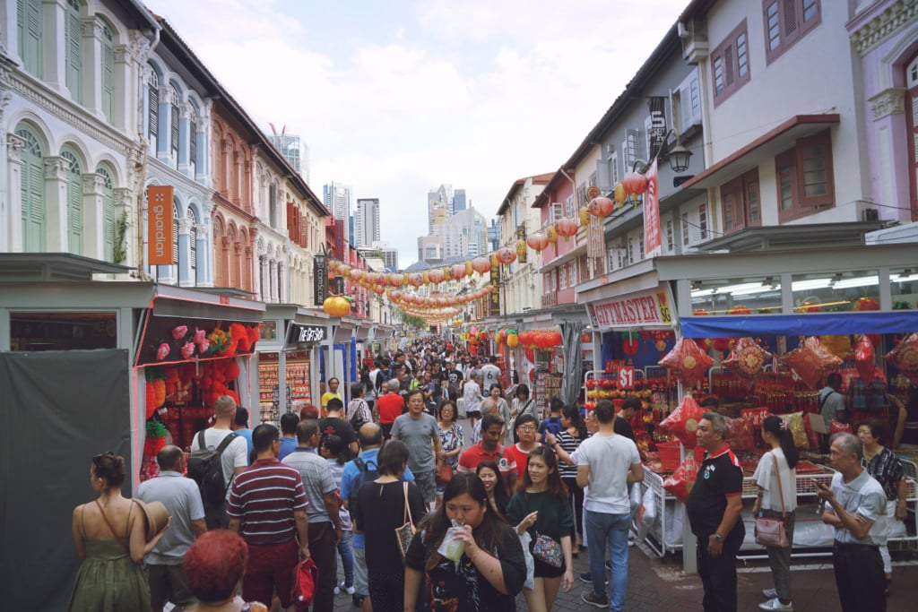 Chinatown Singapur Markt