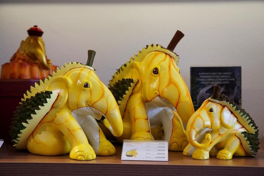 Durian Elefanten Singapur