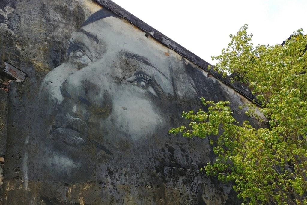 Gesicht Street Art Georgetown
