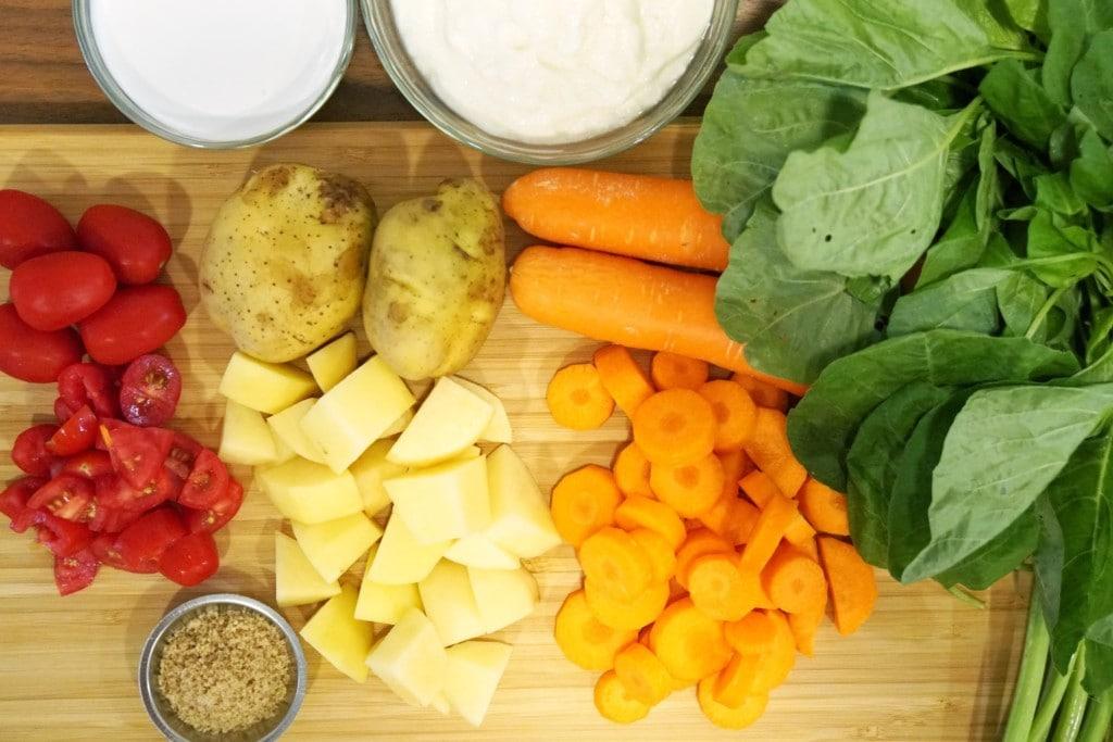 Gemüse vegetarisch