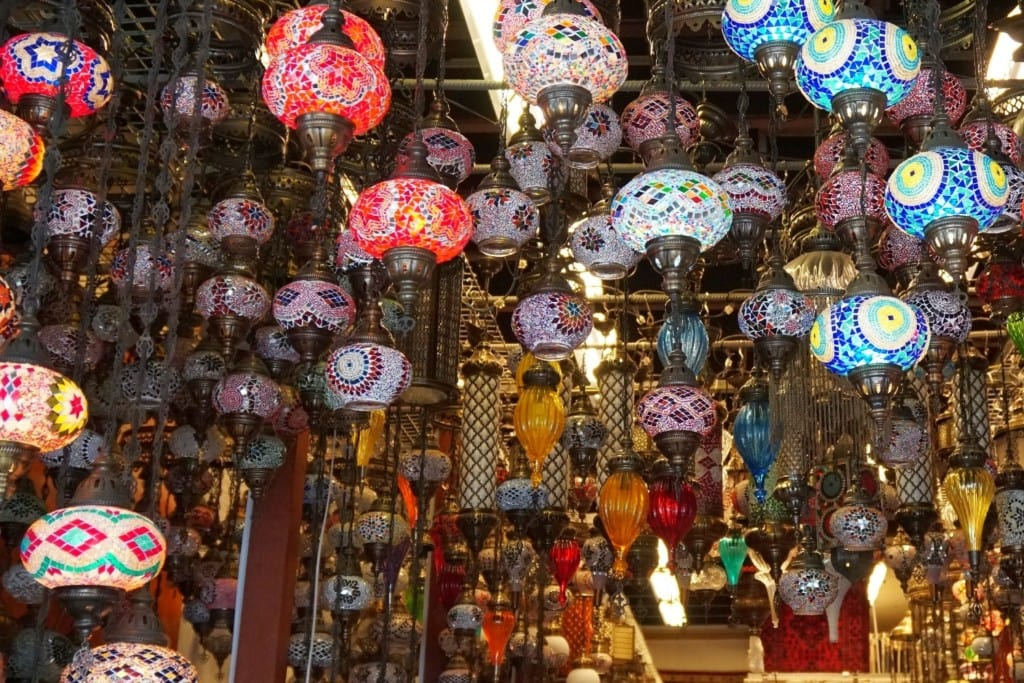 Lampen arabisches Viertel Singapur