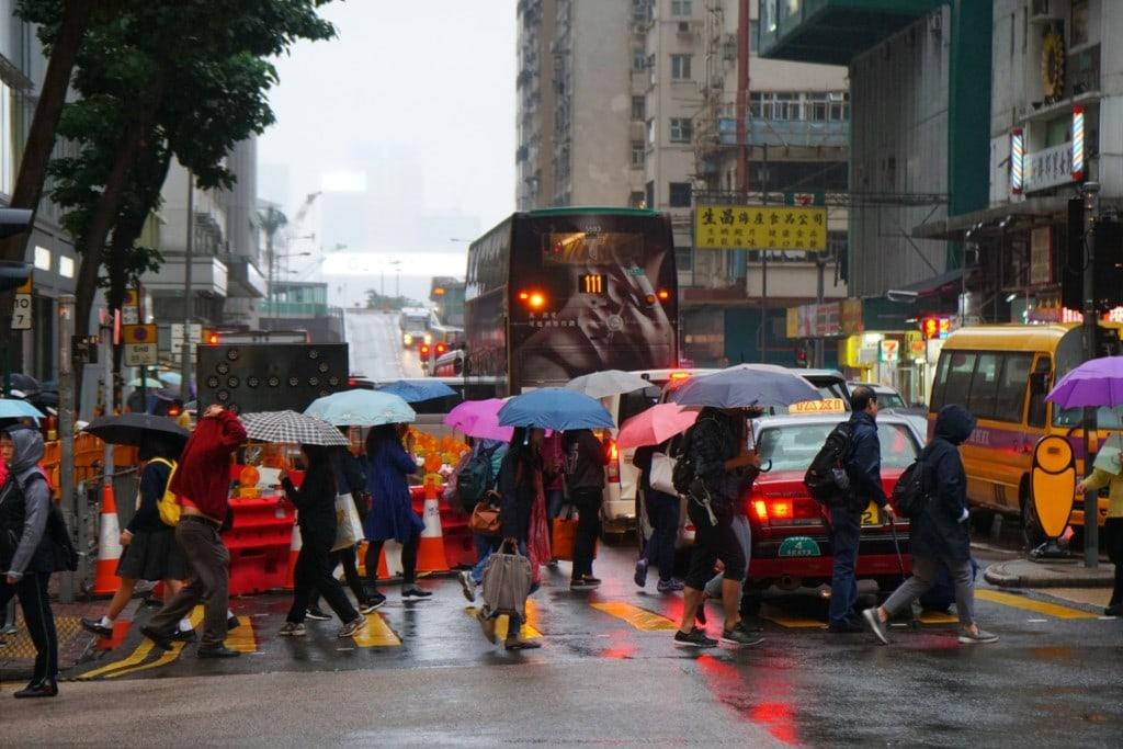 Regentage in Hong Kong