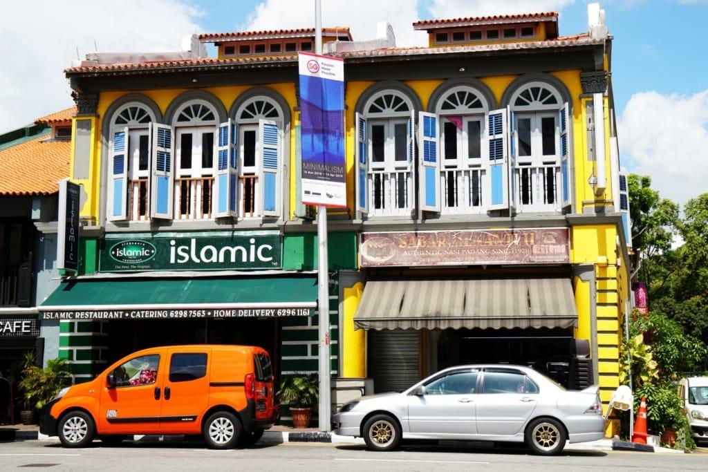 Singapur arabisches Viertel