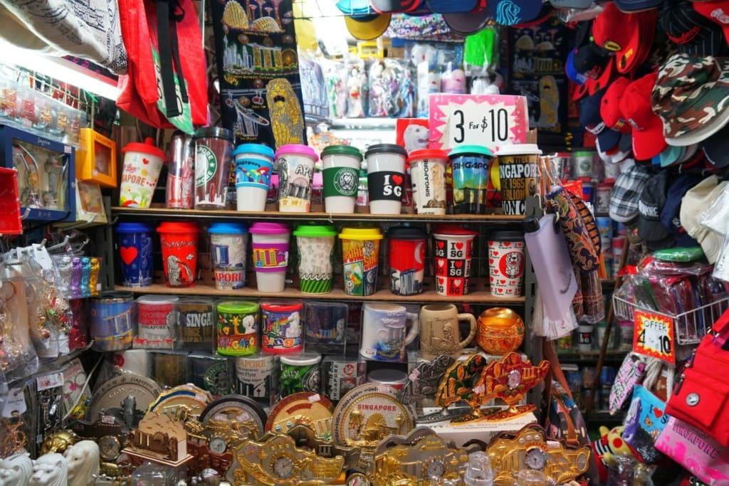 Souveniers Bugis Market