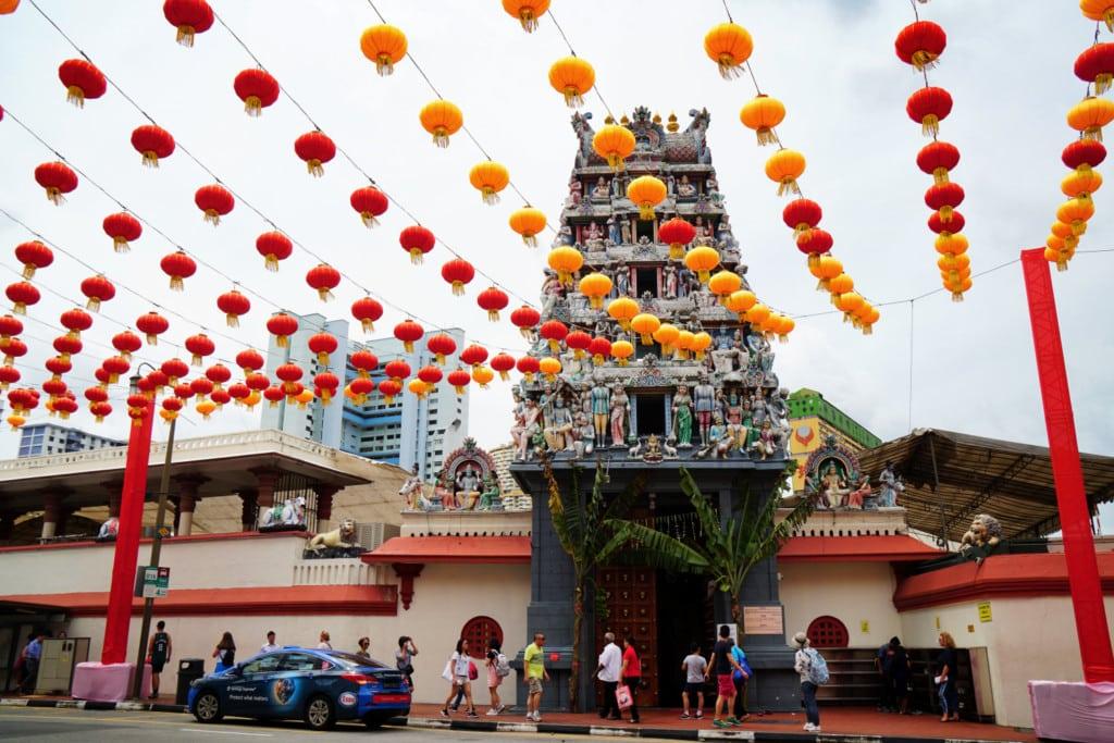 Sri Mariamman Tempel Singapur