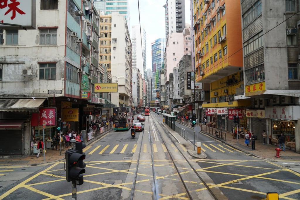 Straße Hong Kong