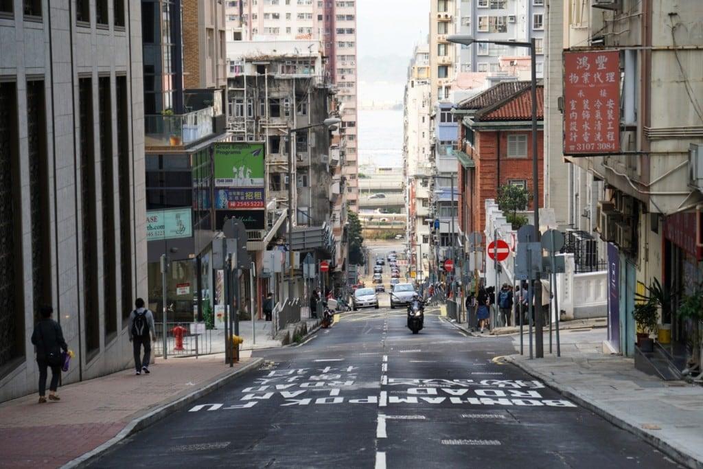 Straßen von Hong Kong