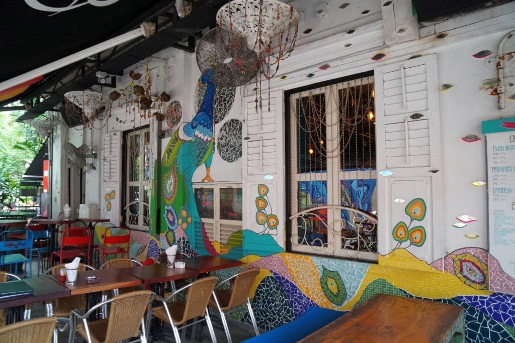 Street Art Haji Lane Restaurants