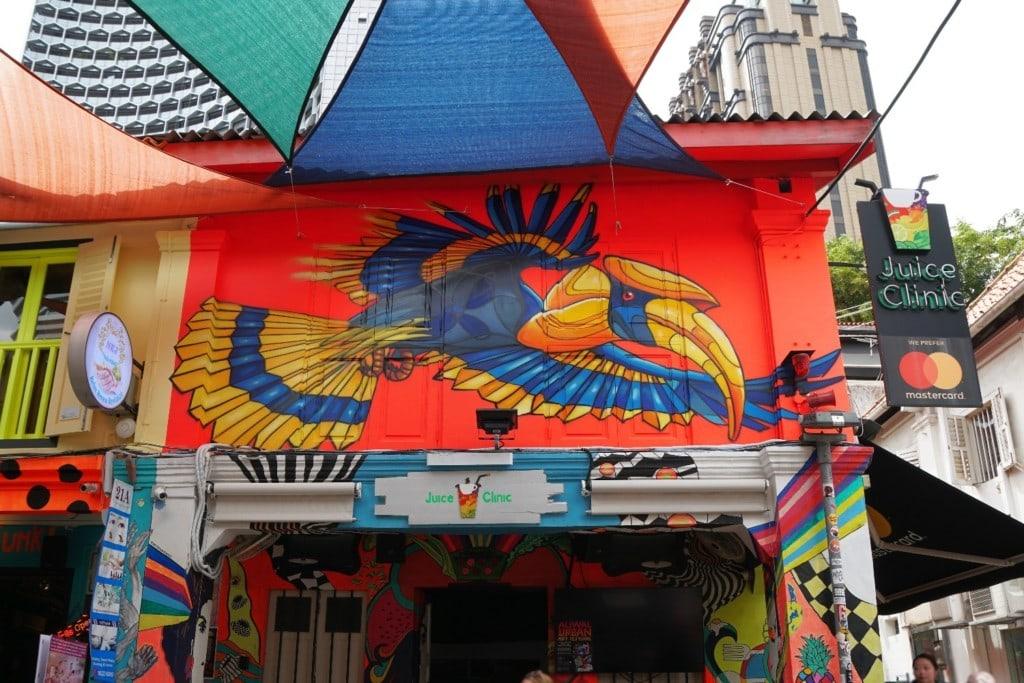 Street Art Hajo Lane Rot