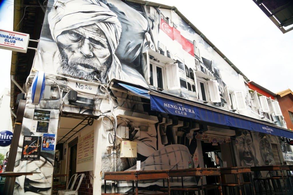 Street art Singapura Club