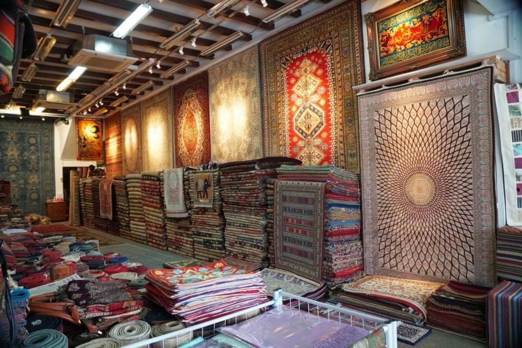 Teppiche arabisches Viertel Singapur