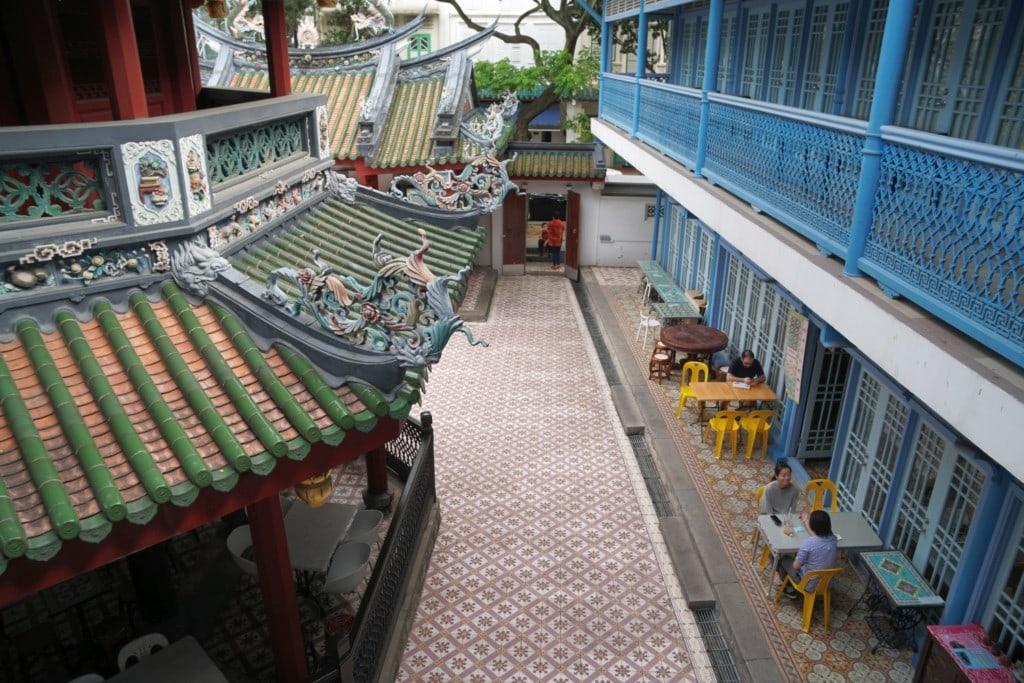 Thian Hock Keng Tempel Chinatown
