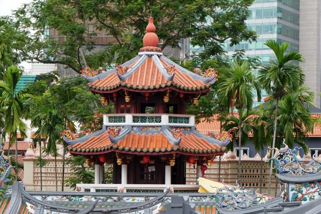 Thian Hock Keng Tempel Singapur