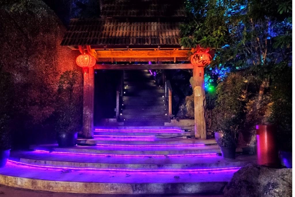 Eingang Avatar Garten Penang