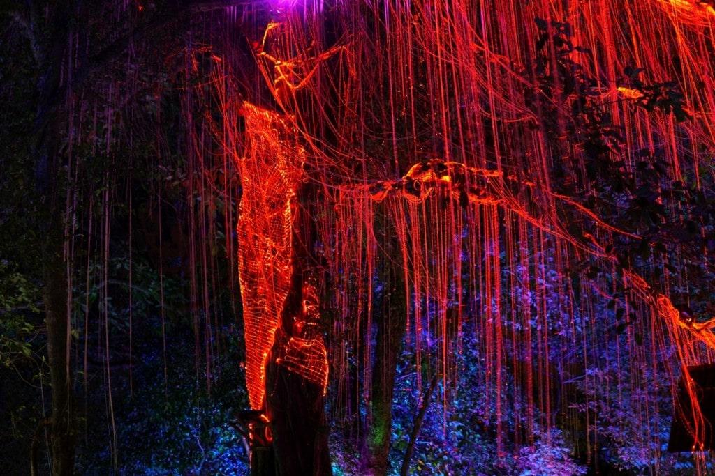 Penang Avatar Secret Garden Beleuchtung