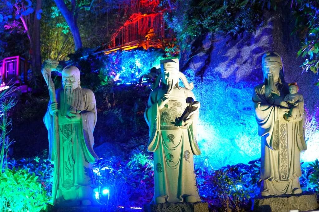 Statuen Avatar Garden