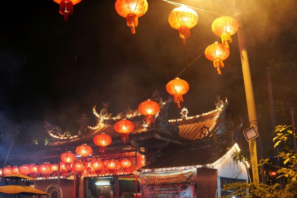 Thai Pak Koong chinese new year