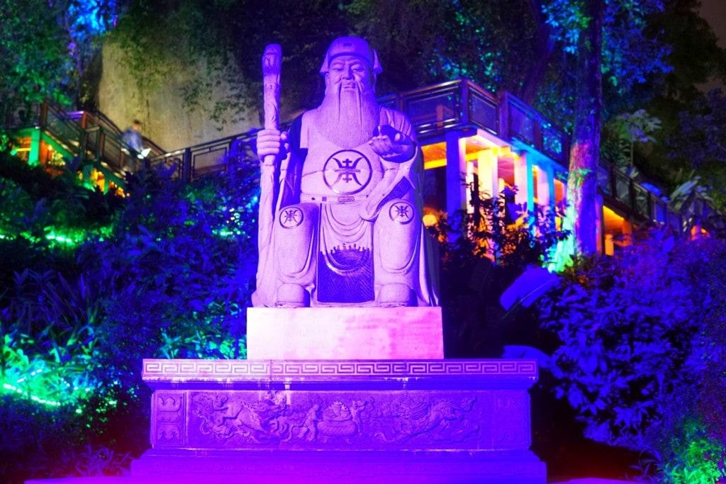 Tua Pek Kong Statue