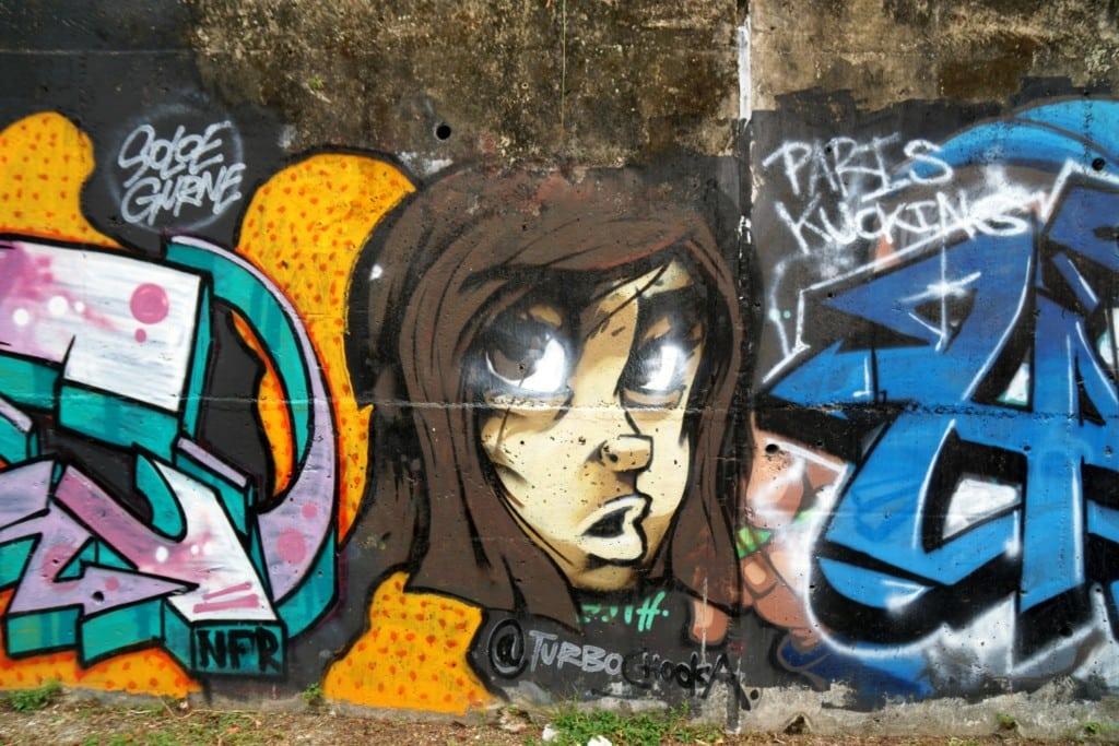 Graffiti Jalan Wawasan