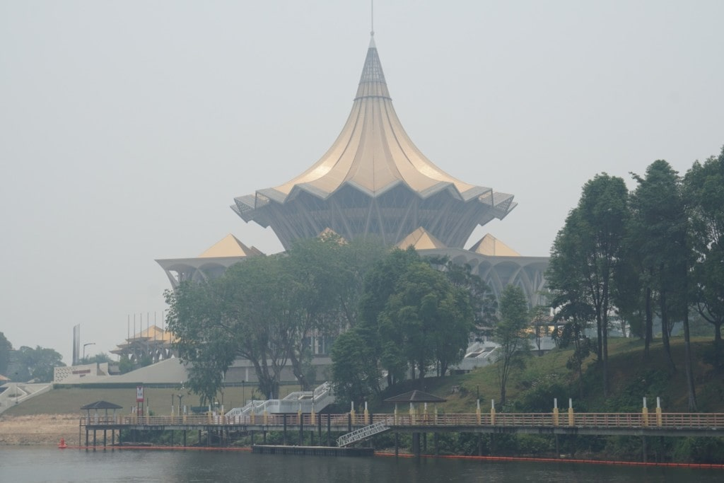 Kuching Parlament Haze