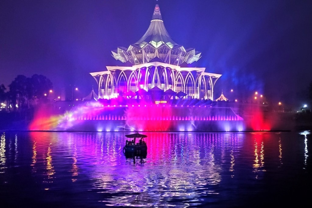 Kuching Waterfront Titel