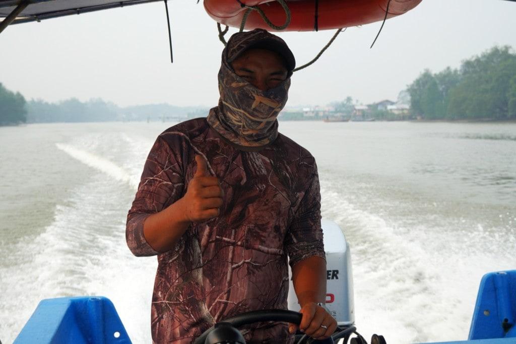 Sarawak Bootsfahrt